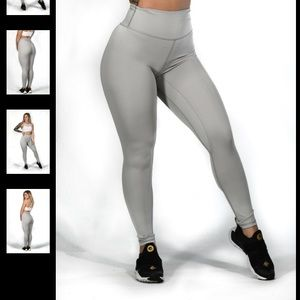 Til you collapse high waisted leggings